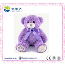 Lavender Dried Grain Heatable Teddy Bear