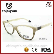 Lunettes optiques acétate de mode femmes avec CE & FDA