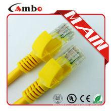Cable de protección RJ45 Cable de conexión Cat6 3m con conector de arranque