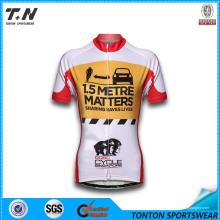 Kundenspezifische Coolmax Sublimation Radsport-Sportbekleidung
