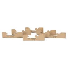 Artwork corner protectors paper shell corner protection pakaging corner