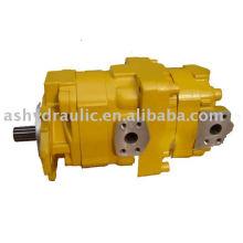 Lader WA120 doppelte hydraulische Zahnradpumpe, 705-51-32000