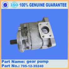 Komatsu spare parts  gear pump 705-12-35240 WA420-3 for Hydraulic system