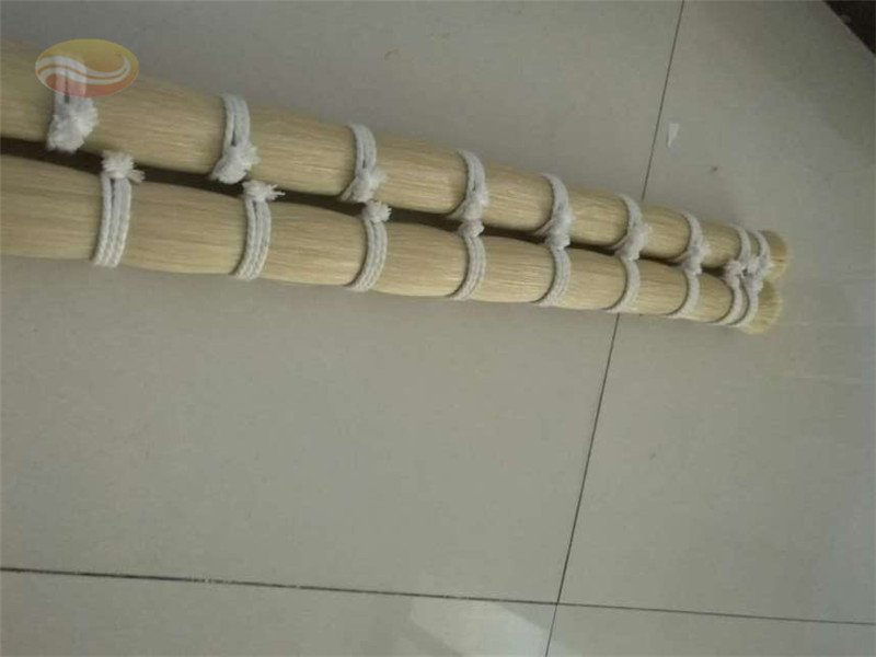 White Horse Tail Hair for Violin Bow Hair
