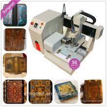 Metal máquina de gravura SG4040-mini metal cnc fresadora