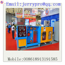 14DT(0.25-0.6) Copper/aluminium fine wire drawing machine with ennealing(simple wire drawing machine)