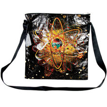 Foldable Design Grocery Colorful Print Shoulder Bags