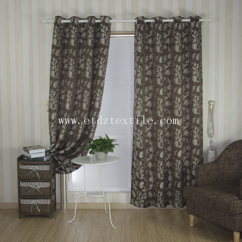 hot sale hotel embroidery curtain