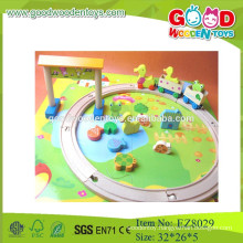 kids track toys wooden track toys cartoon track toys