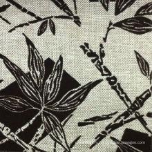 Флокирование цветок шаблон дизайна ткань диван