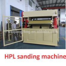 Máquina de lijado posterior HPL / Máquina de lijado de cinta ancha de alta resistencia calibración HPL