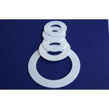White Ptfe Teflon Gasket / Teflon Flange Gaskets For Automotive