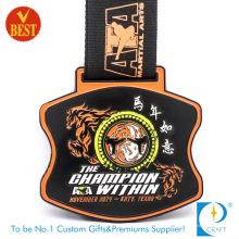 Medalla suave de alta calidad al por mayor del recuerdo del esmalte del nuevo diseño al por mayor en la aleación del cinc