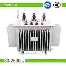 10кВ 30кВА ~ 1600kVA серии нефти погружен импульсный трансформатор