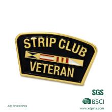 Pin de largo largo de la solapa de la aguja de la forma encantadora de la alta calidad (HST-BS-116)