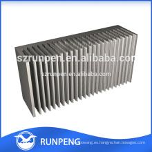 Extrusiones de aleación de aluminio Disipador térmico, Estuche de disipador de aluminio, Extrusión de aluminio