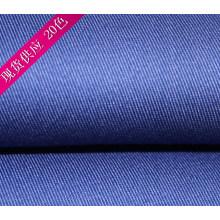 Trabajo Azul Royal ropa de la tela cruzada del algodón del poliester