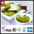 Salsa de wasabi verde real inmersión