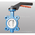 Standard General PYL Brand D71X China Made DN50 to DN600 Water Medium Temperature Cast Iron Manual Low Pressure Butterfly Valve