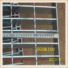 Grille de passerelle galvanisée industrielle en usine de Chine