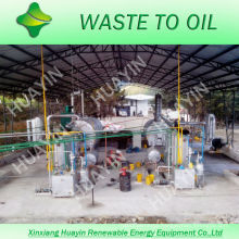 Batch Type Pyrolysis System Convert All Types of Waste Oil Into Diesel Fuel For Trucks