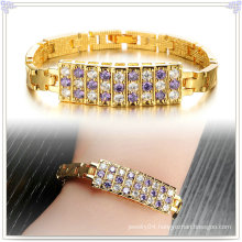 Fashion Accessories Copper Bracelet Crystal Jewelry (AB262)