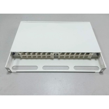 Tipo de gaveta de 19 polegadas Rack Mount Patch Panel / ODF