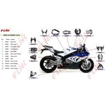 Peças de fibra de carbono da motocicleta para BMW S1000rr 2015