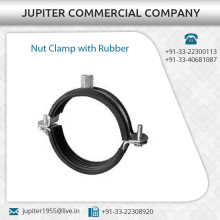 Nut Clamp with Outer Rubber Lining Available at Market Rate