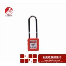 Wenzhou BAODSAFE BDS-S8621 Langer Stahl Schäkel Sicherheit Vorhängeschloss Auszug Vorhängeschloss