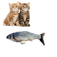 Cat Fish Toy Catnip Grass Electric Cat Toy Kitty Interactive Chewings Fishing Toy
