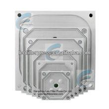 Placa de la prensa del filtro prensa de filtro Leo, placas prensa de filtro para prensa de filtro de placa empotrada y prensa de filtro de membrana