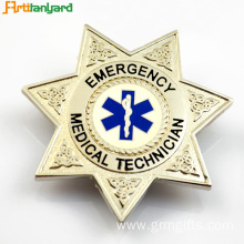 Customized Metal Badge with Embossed Logo
