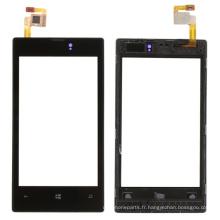 Panneau tactile de remplacement de téléphone mobile pour Nokia Lumia 520