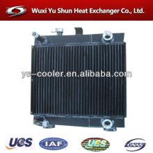 Intercooler internacional y profesional para la construcción de vehículos / radiador de vehículos / intercooler de rodillos de carretera