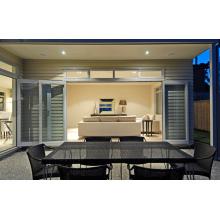 Fenêtres et portes en aluminium double vitrage simples et rapides