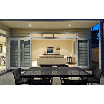 Просто и быстро устанавливаемые двойные стеклянные алюминиевые окна и двери