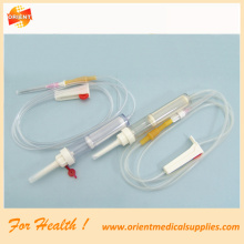 CE approved Y port Blood transfusion set