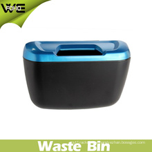 Blue Garbage Can Plastic Waste Bin for Car (FH-AB001)