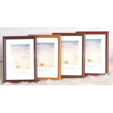 Plastic Frame with Wooden Grain (M-BD)