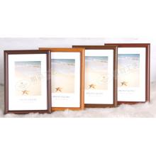 Frame de retrato plástico de grão de madeira (M-BD)