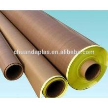 China Lieferant besten Umsatz Hochtemperatur gute Isolierung Teflon Glas mit Kleber