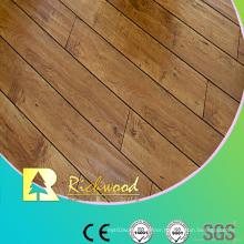 8.3mm E0 HDF AC4 Embossed Hickory V-Grooved Laminate Flooring