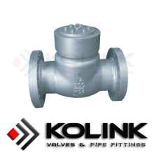 Pressure Seal Check Valve Swing Design