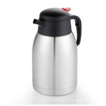 Gros isolé à double paroi Thermos café en acier inoxydable pot 1.2L