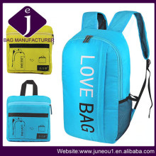 Travel Sport Laptop Computer Backpacks Bags Promotional Foldable Backpack Daypack Bp036