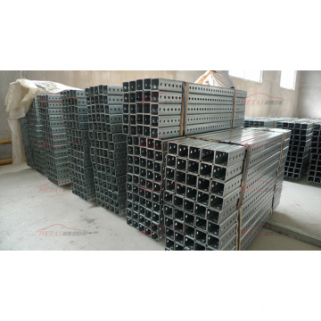 Wholesale Carbon Steel Perforated Galvanized Square Sign Post