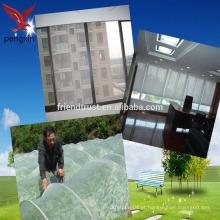 PVC revestido de fibra química janela de compensação