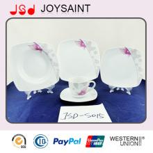 Hochwertige einfache Aufkleber Porzellan Geschirr Teller Kaffeetasse