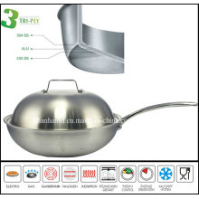 New Product Promotion 3ply Gas Wok Range